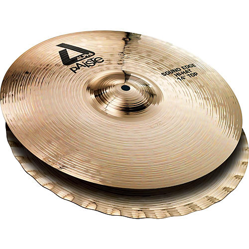 Paiste Alpha Sound Edge Hi-hat Pair, Brilliant