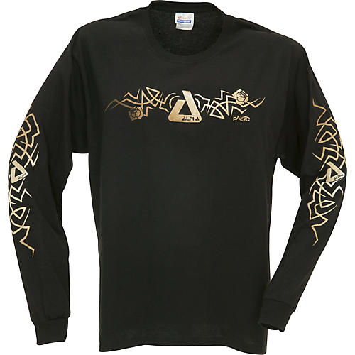 Paiste Alpha Thorn Tribal Long Sleeve T-Shirt