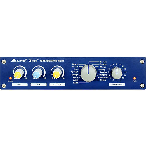 Alto Alphaverb2 Stereo Digital Effects Processor-thumbnail