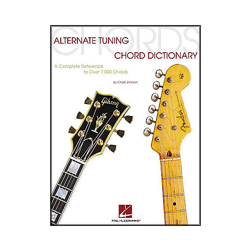Hal Leonard Alternate Tuning Chord Dictionary Book