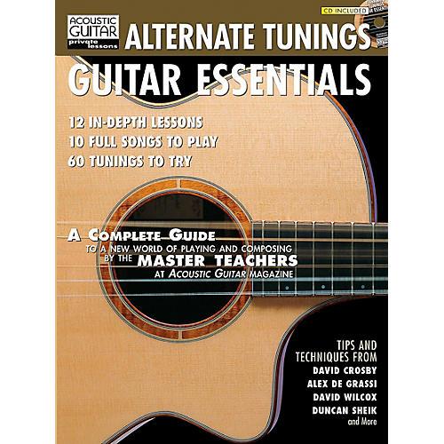 Hal Leonard Alternate Tunings Guitar Essentials Book/CD