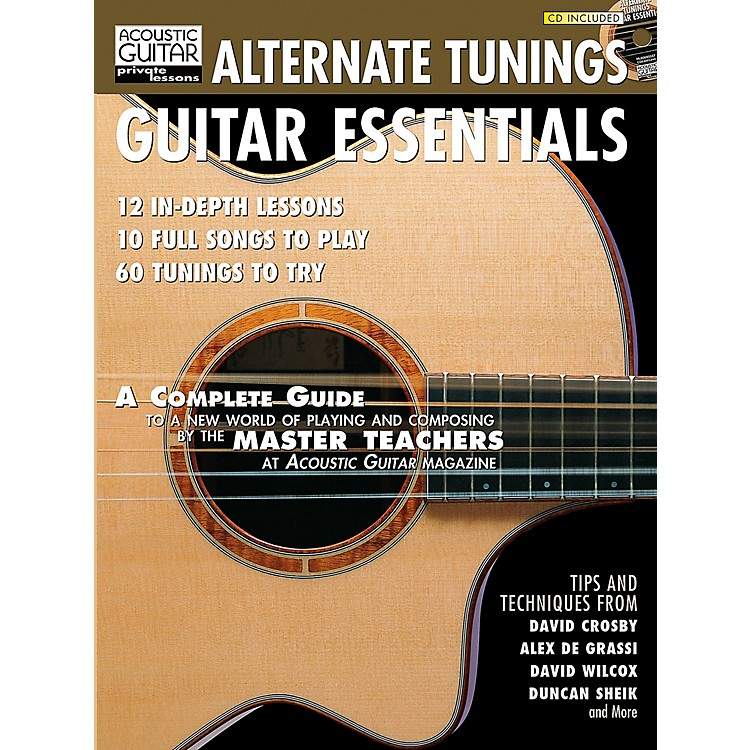 Hal Leonard Alternate Tunings Guitar Essentials Book/CD