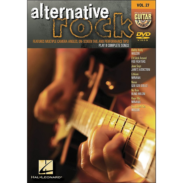 Hal Leonard Alternative Rock - Guitar Play-Along DVD Volume 27