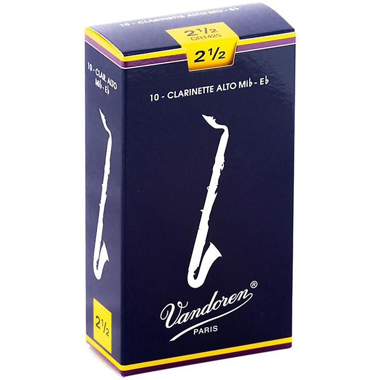 VandorenAlto Clarinet ReedsStrength 2.5Box of 10