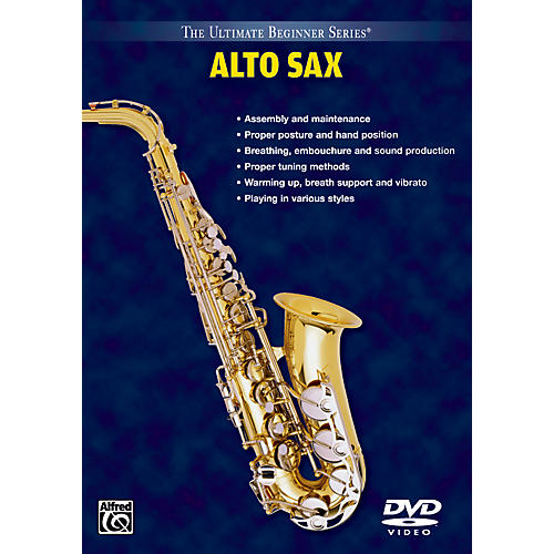 Warner Bros Alto SAX DVD