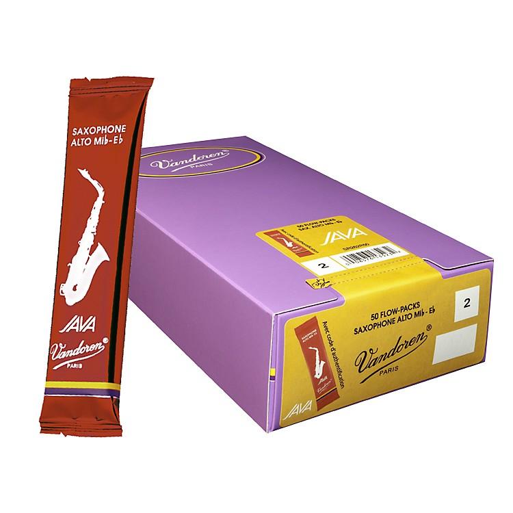VandorenAlto Sax Java Reed Box of 50