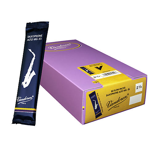 Vandoren Alto Sax Traditional Reed Box of 50