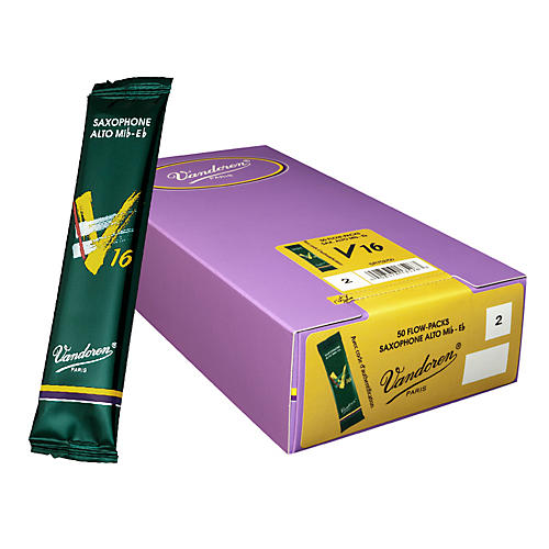 Vandoren Alto Sax V16 Reed Box of 50 2 Box of 50