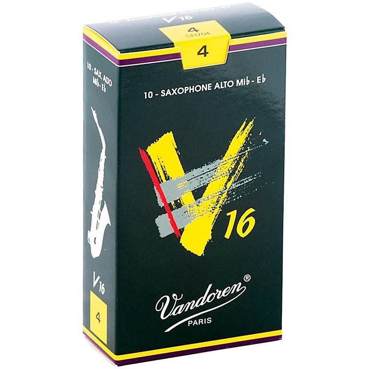 VandorenAlto Sax V16 ReedsStrength 4Box of 10