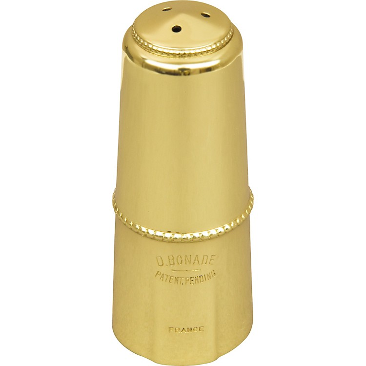 BonadeAlto Saxophone Mouthpiece CapGold Lacquer Cap - Regular