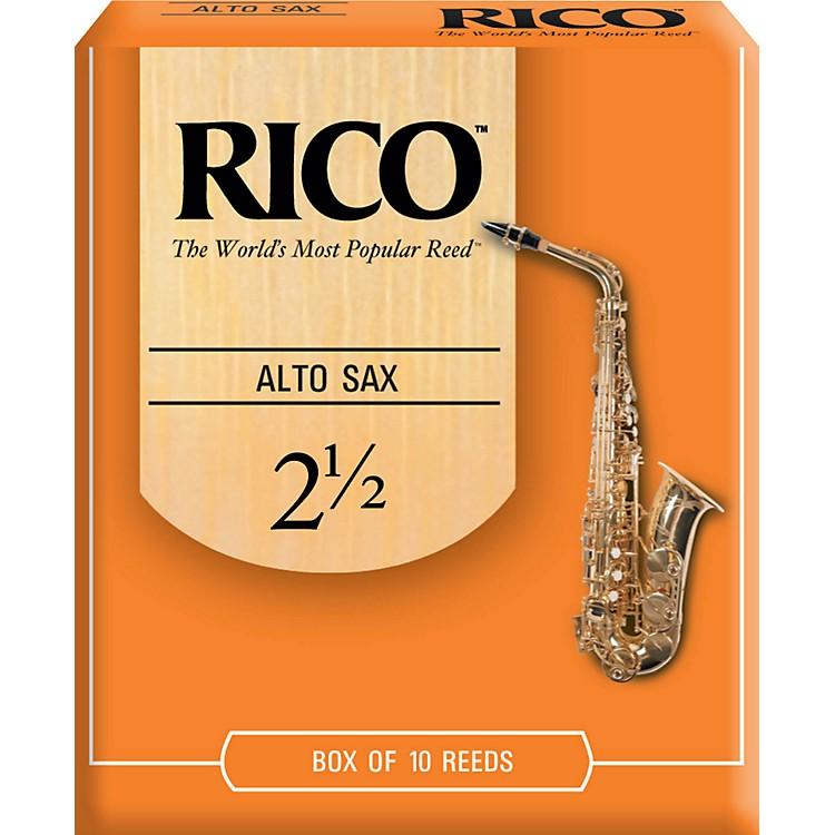 RicoAlto Saxophone ReedsStrength 2Box of 25
