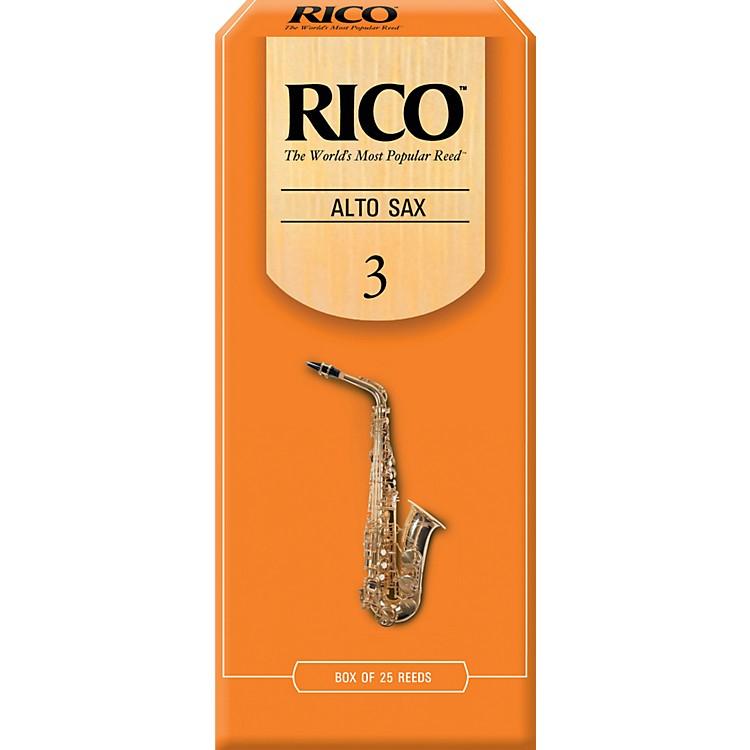 RicoAlto Saxophone ReedsStrength 3Box of 25