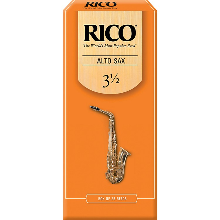 RicoAlto Saxophone ReedsStrength 3.5Box of 25