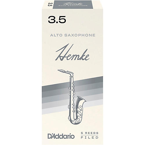 Frederick Hemke Alto Saxophone Reeds Strength 3.5 Box of 5