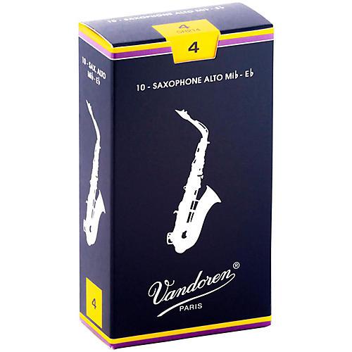 Vandoren Alto Saxophone Reeds Strength 4 Box of 10