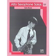 Alfred Alto Saxophone Solos Level I Solo Book