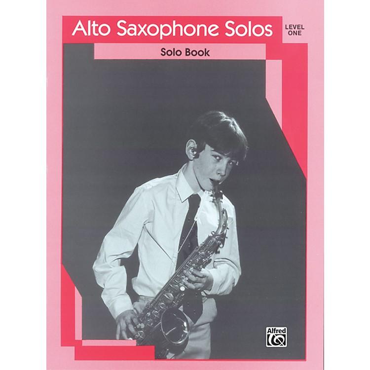 AlfredAlto Saxophone Solos Level I Solo Book