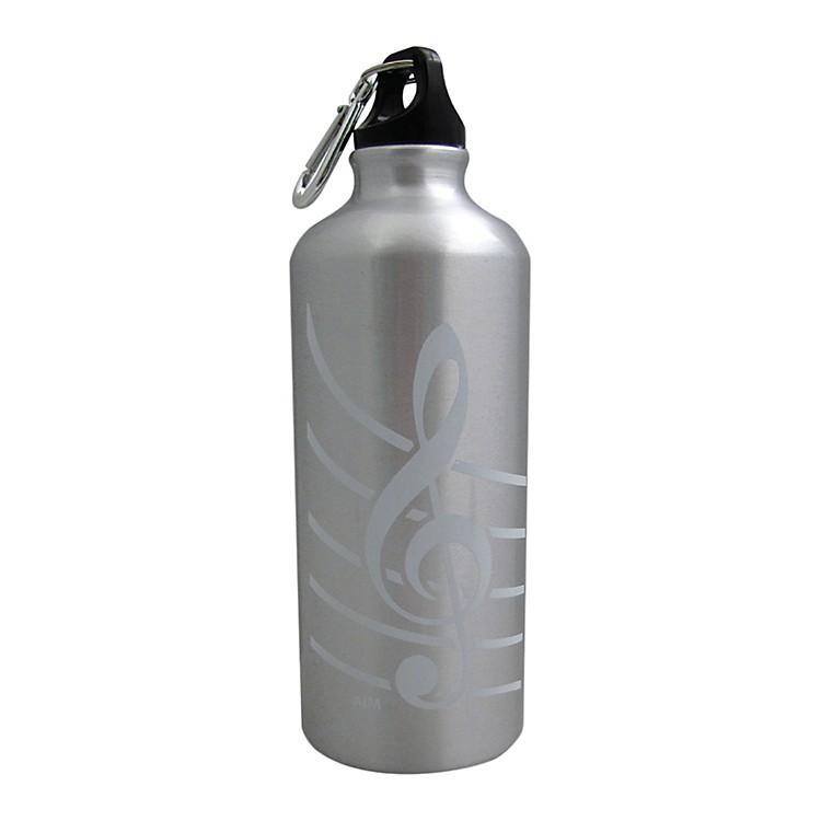 AIMAluminum Bottle G ClefGreen