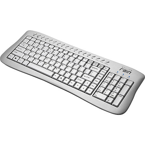 Rain Computers Aluminum Keyboard