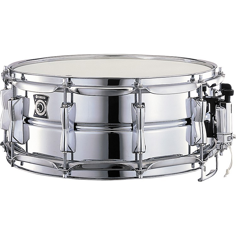 Yamaha aluminum snare 14 x 5 5 in musician 39 s friend for Yamaha stage custom steel snare drum 14x6 5