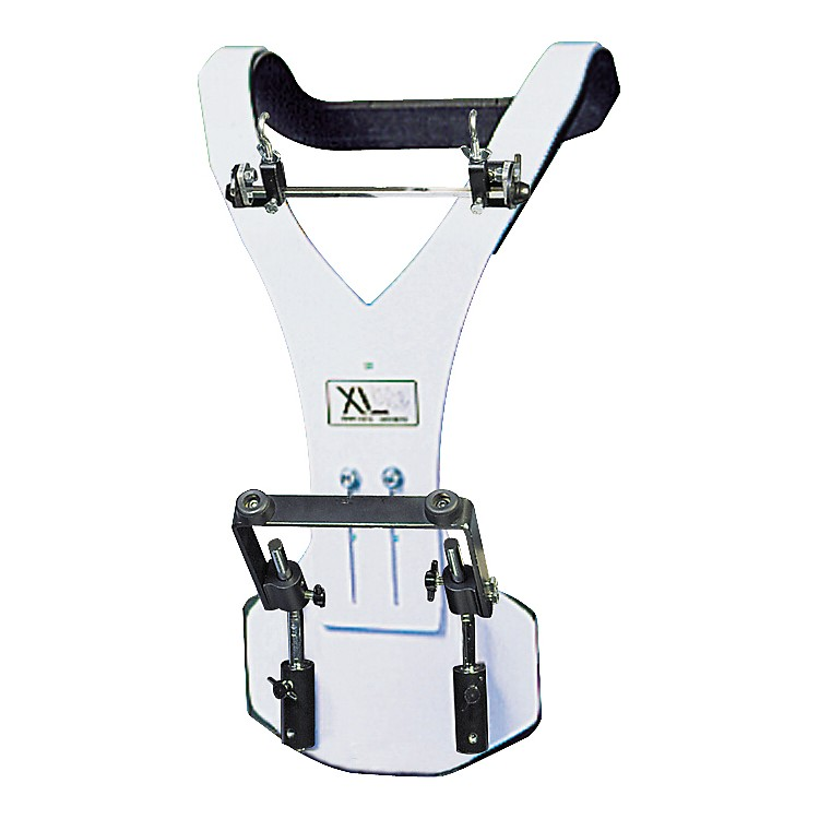 XL Specialty PercussionAluminum Vest Deluxe Bass Drum CarrierWhite