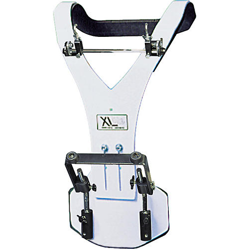 XL Specialty Percussion Aluminum Vest Deluxe Bass Drum Marching Carrier-thumbnail