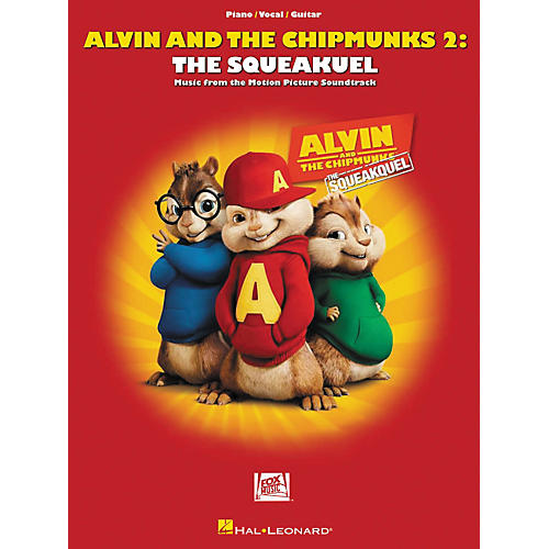 Hal Leonard Alvin And The Chipmunks 2: The Squeakquel Music From The Motion Picture Soundtrack arranged for piano, vocal, and guitar (P/V/G)-thumbnail