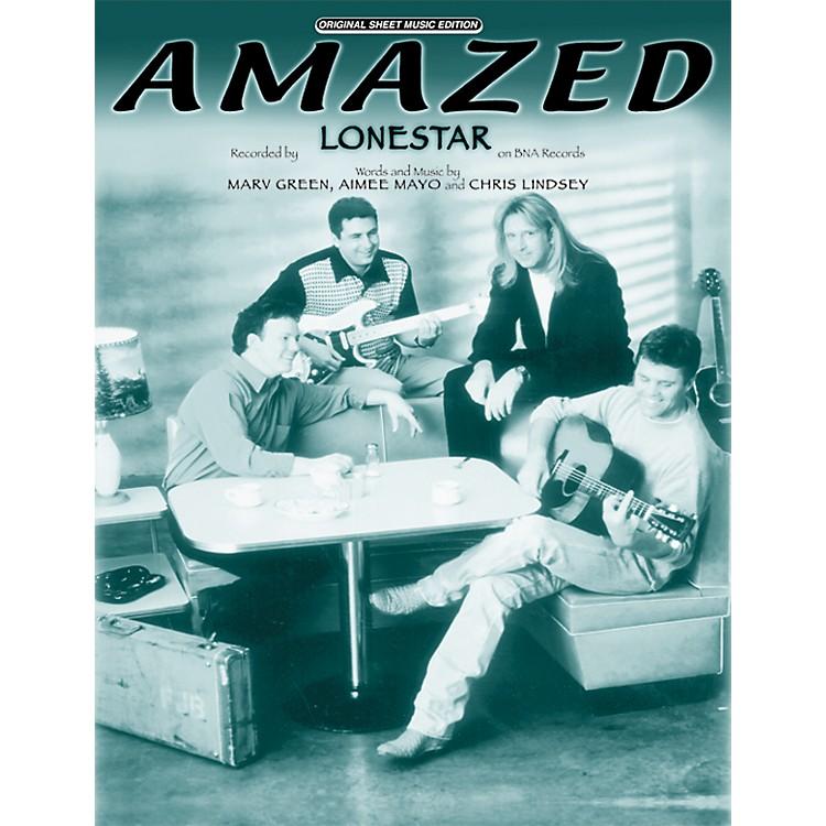 AlfredAmazed Vocal, Piano/Chord Book