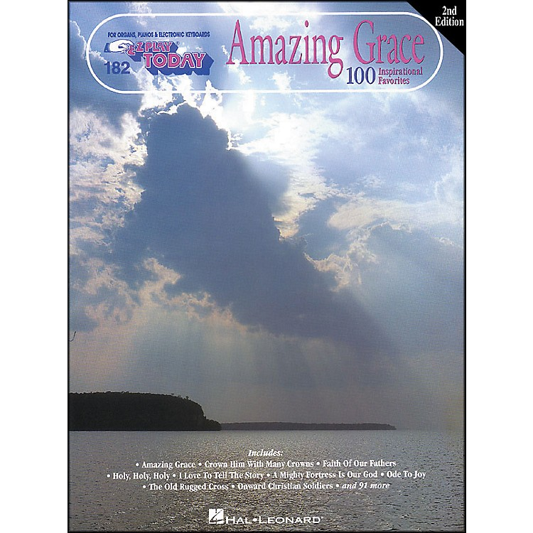 Hal Leonard Amazing Grace 2nd Edition E-Z Play 182