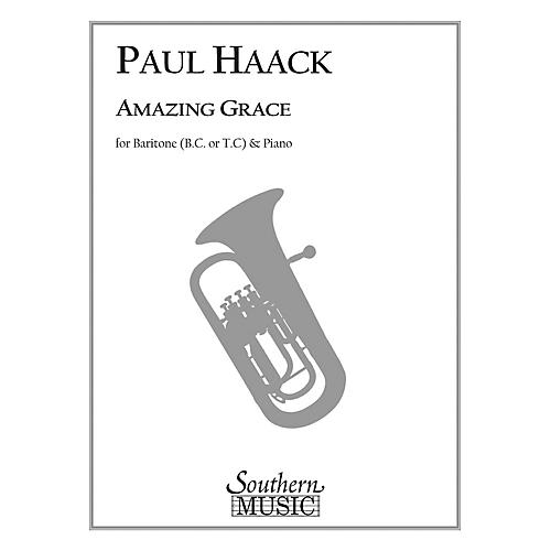 Southern Amazing Grace (Trombone) Southern Music Series Composed by Paul Haack-thumbnail