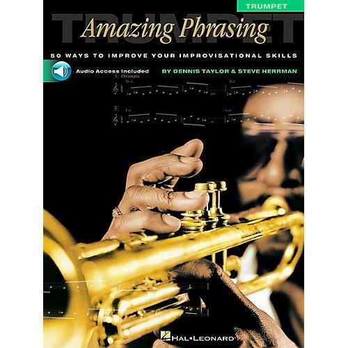 Hal Leonard Amazing Phrasing - Trumpet (Book/Online Audio)-thumbnail