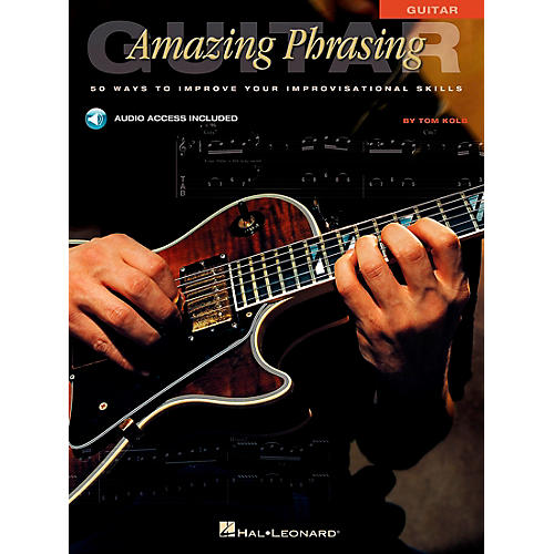 Hal Leonard Amazing Phrasing Guitar (Book/CD)