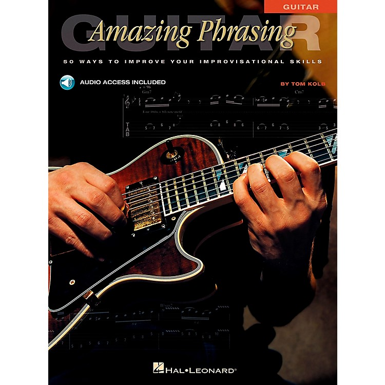 Hal LeonardAmazing Phrasing Guitar (Book/CD)
