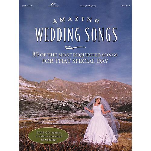Brentwood-Benson Amazing Wedding Songs (Book/CD)