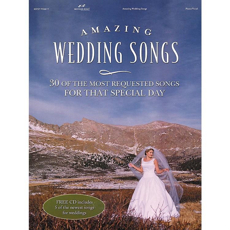 Brentwood-BensonAmazing Wedding Songs (Book/CD)