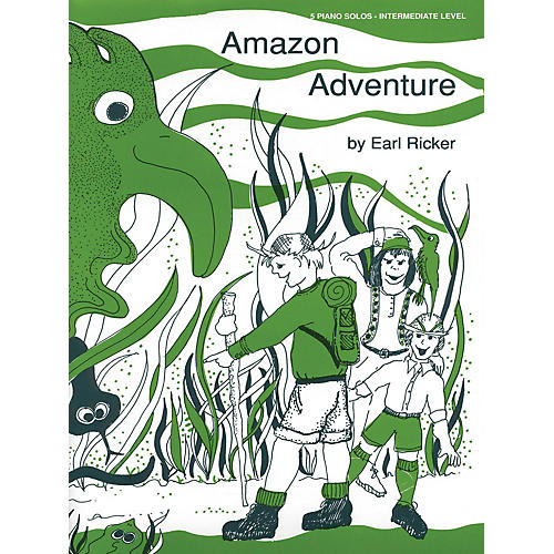 Lee Roberts Amazon Adventure (Recital Series for Piano, Red (Book III)) Pace Piano Education Series by Earl Ricker-thumbnail