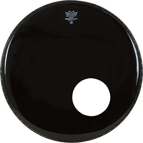 Remo Ambassador Bass Drum Head with 5.5