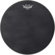 """Remo Ambassador Black Suede Snare Side Drum Head Matte Black 14"""""""