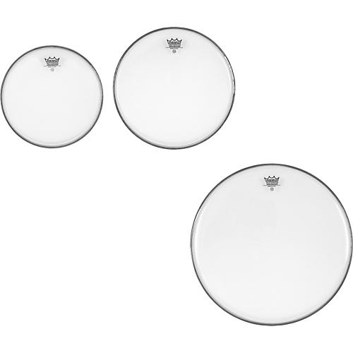 Remo Ambassador Clear New Fusion Tom Drumhead Pack