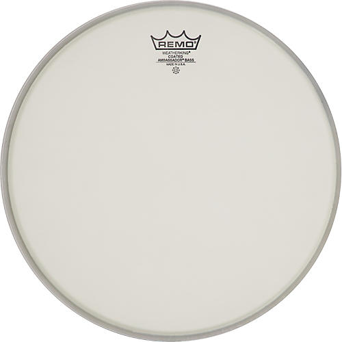 Remo Ambassador Coated Bass Drum Heads 16 in.