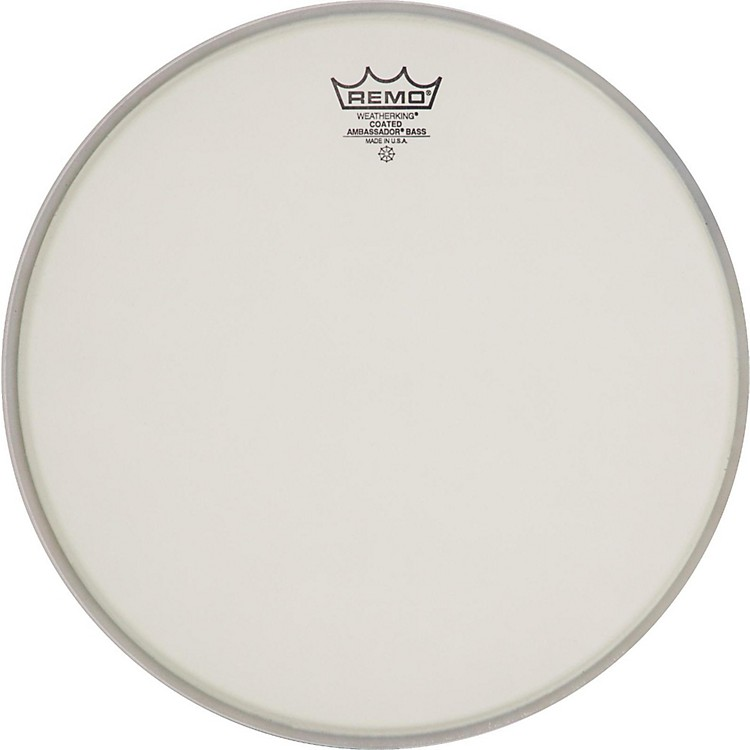 Remo Ambassador Coated Bass Drum Heads 20 Inch