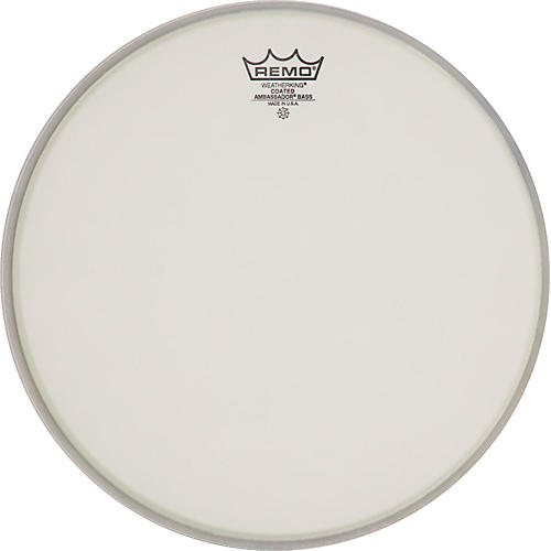 Remo Ambassador Coated Bass Drum Heads 20 in.