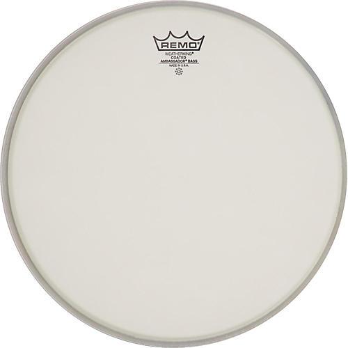 Remo Ambassador Coated Bass Drum Heads