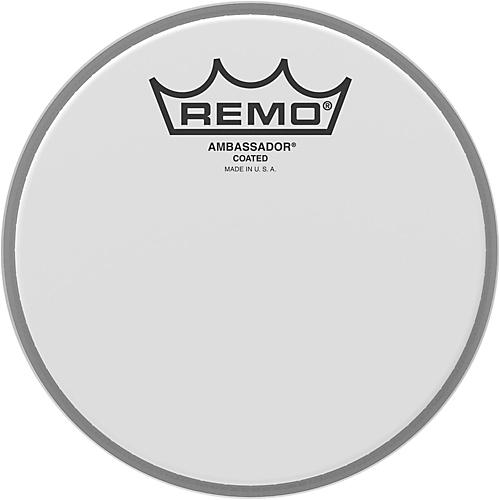 Remo Ambassador Coated Head  6 in.