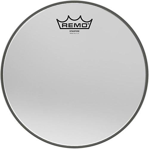 Remo Ambassador Starfire Chrome Tom Head 10 in.