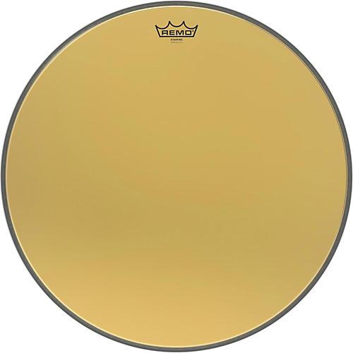Remo Ambassador Starfire Gold Bass Drumhead-thumbnail