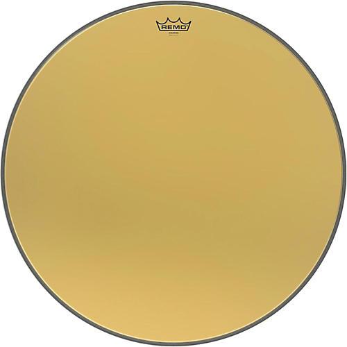 Remo Ambassador Starfire Gold Bass Drumhead 26 in.