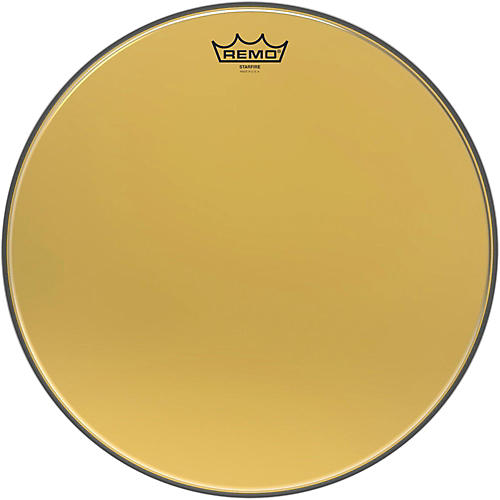 Remo Ambassador Starfire Gold Tom Head 16 in.