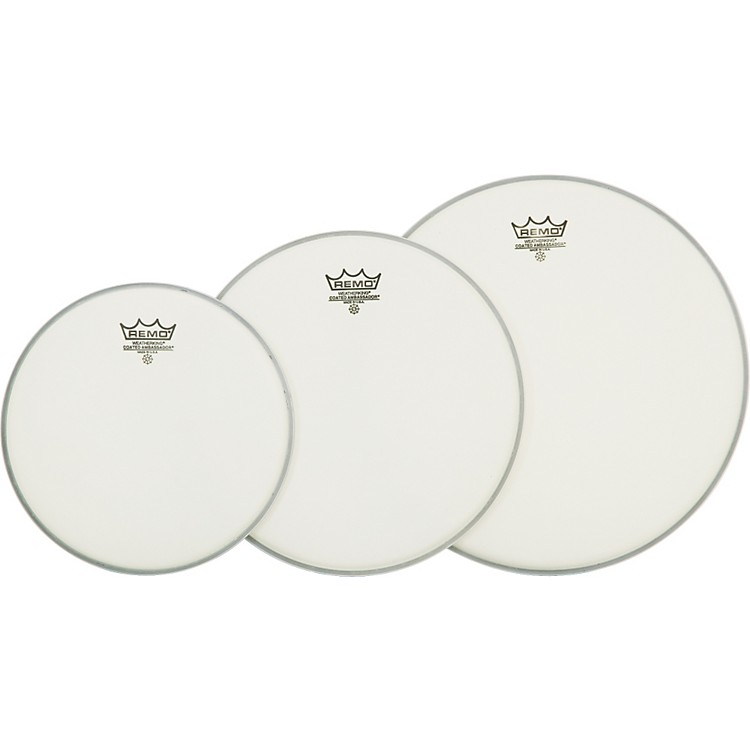 Remo Ambassador Tom Drumhead Pack Standard Coated