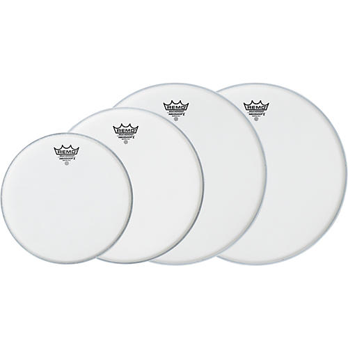 Remo Ambassador X Fusion Drumhead Pack, Buy 3 Get a Free 14 Inch Head-thumbnail